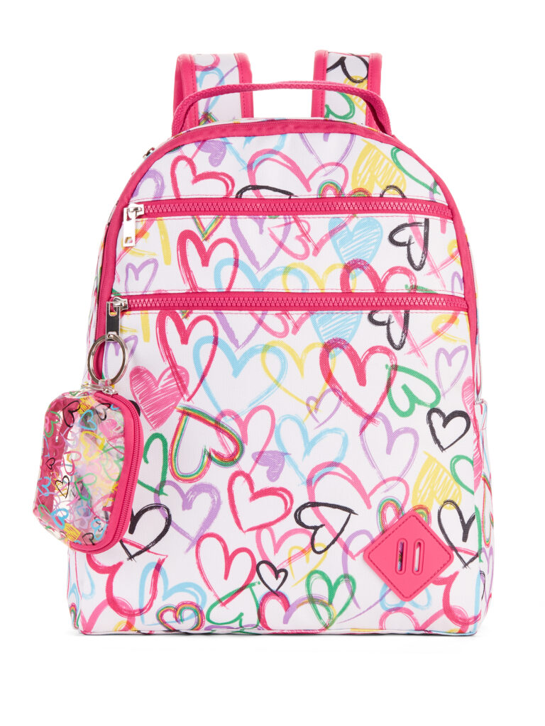 Multi Heart Bullet Proof Dome Backpack