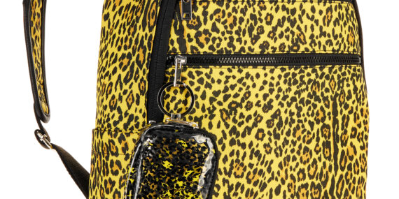 Leopard Dome Bulletproof Backpack